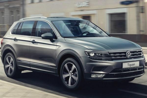Аренда Volkswagen Tiguan в Мурманске